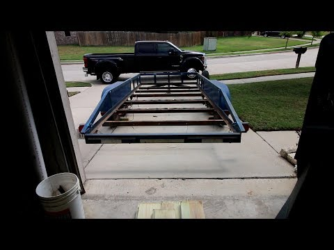 How to replace the wood on your trailer! (PART 1) With trailer electrical!
