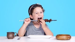 Kids Try Ancient Recipes | Kids Try | HiHo Kids