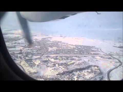 Flight from Reykjavik to Akureyri