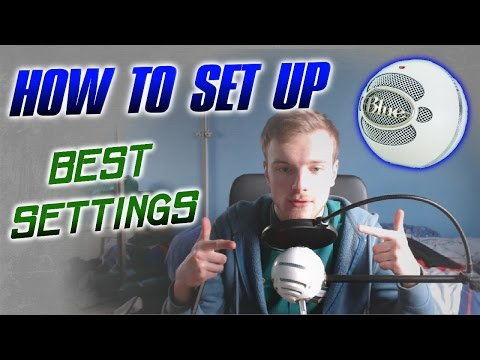 How to Set Up a Blue Snowball ICE Mic (Best Quality)