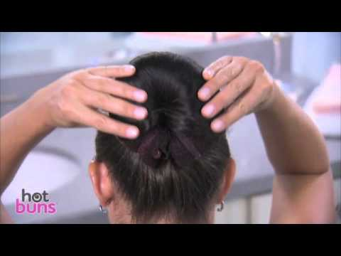 Hot Buns™ hair accessories how-to   Top TV Stuff