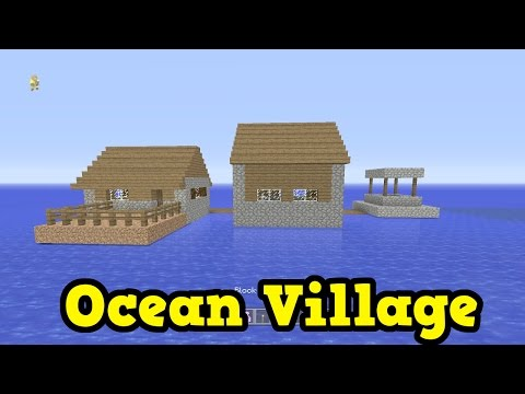 Minecraft Xbox One / PS4 - FLOATING VILLAGE SEED