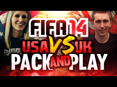 THE BPL RETURNS!' | FIFA 14 | UK VS USA PACK AND PLAY
