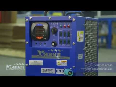 100 kW Load bank by Mosebach Manufacturing