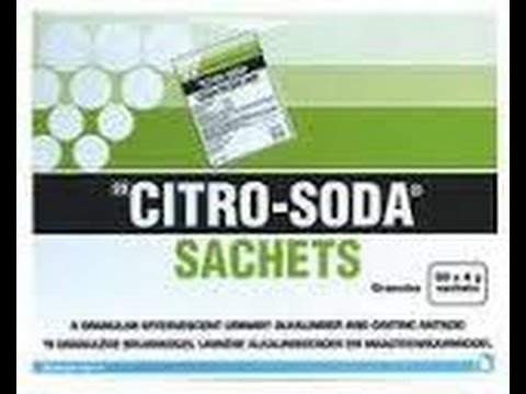 Disposing of EXP CITRO-SODA