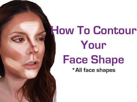 How to Contour Your Face makeup for beginners face slimming technique