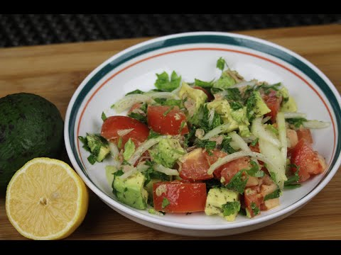Avocado and Tuna Salad - Episode 74 - Amina is Cooking