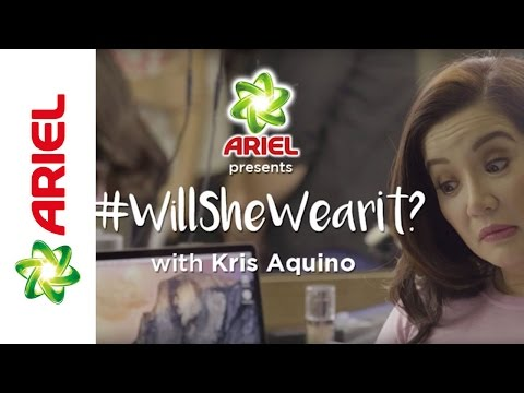 Keeping Clothes Fresh with Ariel and Kris Aquino - Ariel