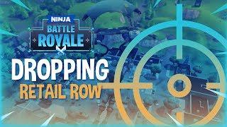 Dropping Retail Row! - Fortnite Battle Royale Gameplay - Ninja
