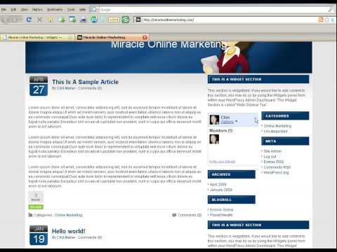 Adding An Image To Your Wordpress Sidebar