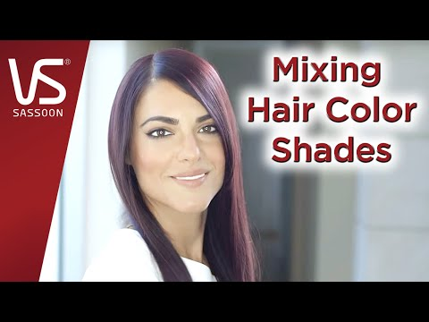 Salonist Hair Color Tips: Mixing Hair Color Shades | Vidal Sassoon