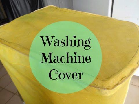 WASHING MACHINE COVER - DIY
