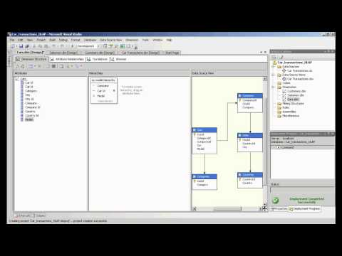 Analysis Services tutorial. Creating OLAP cube. Introduction to data warehouse