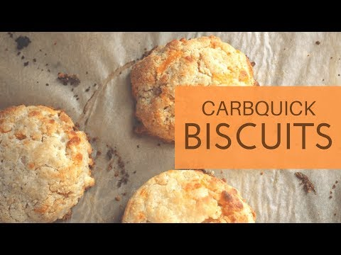 **Keto** Buttery Carbquik Biscuits | FEATURING **Southern-Style Sausage Gravy**