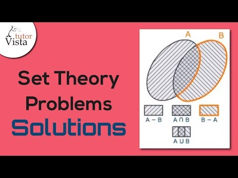 Set Theory Problems