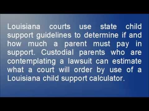 Louisiana Child Support Calculator | LA Child Support Calculator