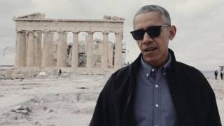 President Obama in Athens, Greece