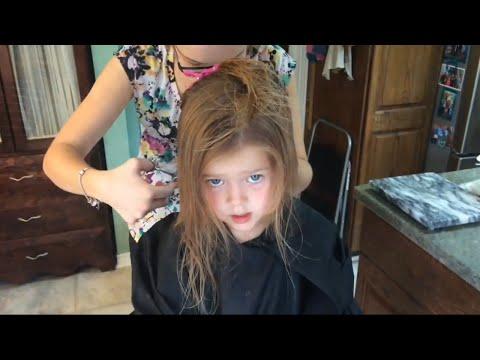 LITTLE GIRL'S CUTE HAIRCUT