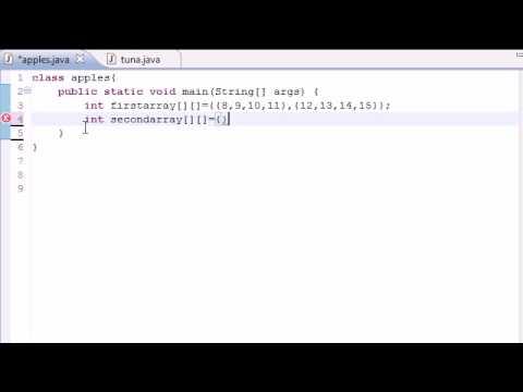 Java Programming Tutorial - 33 - Multidimensional Arrays