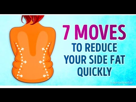 7 Effective Exercises To Reduce Your Side & Back Fat Quickly