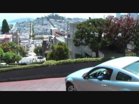 Let's get crooked! Lombard Street, San Francisco