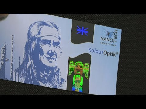Cutting Edge Anti-Counterfeiting Technology - Nanotech Security