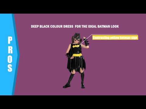 Halloween Costumes- Bat Girl Child Costume
