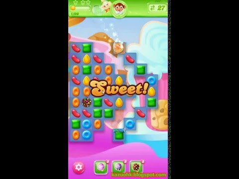 Candy Crush Jelly Saga - Level 147 (No boosters)