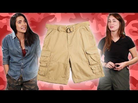 Women Wear Cargo Shorts For A Week