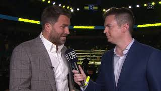 Eddie Hearn Addresses Dillian Whyte Situation, What's Next In Process