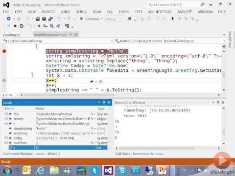 Step Outside The Box with Visual Studio 2012 Debugging