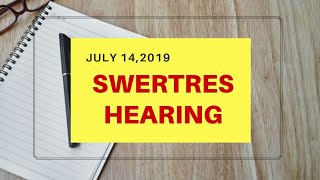 Swertres Hearing / Guide / Combination / Tips Today   JANUARY 21