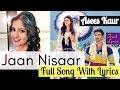 Jaan Nisaar Lyrics Female Version Asees Kaur Kedarnath Sara Ali Khan mp3