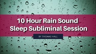 Freedom From Stage Fright - Rain Sounds Subliminal Session - By