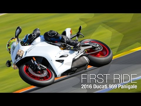 2016 Ducati 959 Panigale First Ride Review - MotoUSA