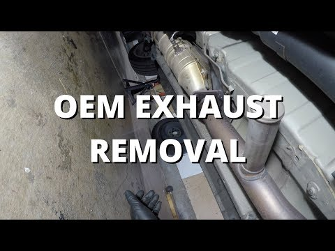 OEM Exhaust Removal | Honda S2000