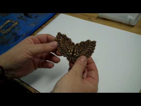 Jewelry Making: Non-Toxic Patina Methods for Brass Stampings, Part One