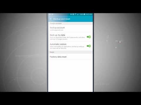 Backing Up Data on the Samsung Galaxy Note 5