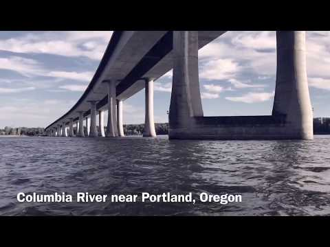 Columbia River Boating Near Portland, Oregon
