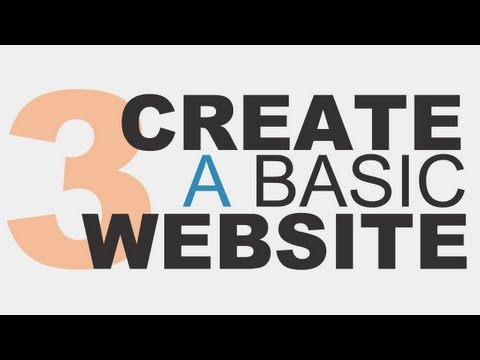 Learn the Basics: Create a Basic Website Using HTML5 - Part 3