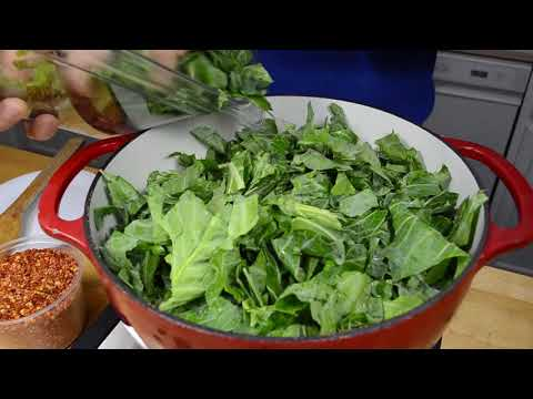 The Everyday Chef: How To Make Savory Slow-Cooked Collard Greens