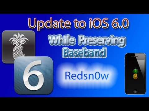 How to Update to iOS 6 and Preserve Baseband for Unlock