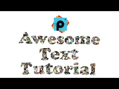PicsArt Editing Tutorials | Awesome Text Design Tutorial | Collage Photos Text PicsArt Manipulation