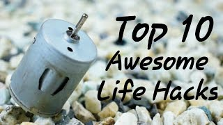 awesome life hacks with motor