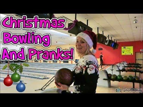 Christmas Bowling And Pranks! Prankster Kids!