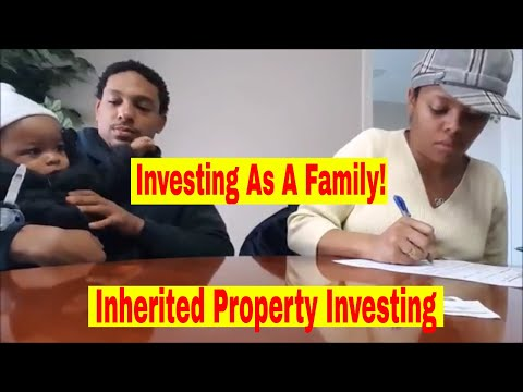 Closing a House As a Family!   Inherited Properties   Real Estate Investing