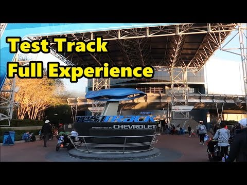 Test Track | Full Experience (Ride & Queue) | Epcot | Walt Disney World