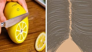 How to Stop Grey hairs Naturally and turn them black again (recipe)