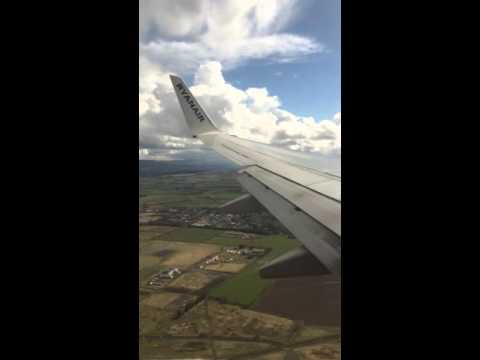 Hyperlapse of descent into City of Derry Airport