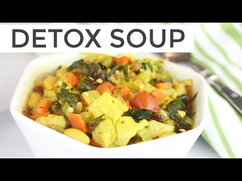 Cleansing Detox Soup Recipe | Healthy + Delicious